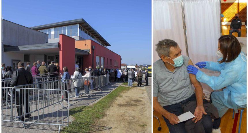 Započelo masovno cijepljenje protiv COVID-19 i u Ivancu, pozvano 850 osoba