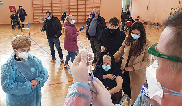Cijepljenje 18. veljače 2021.