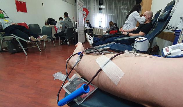 Velik broj Karlovčana ponovo se odazvao akciji darivanja krvi - pogledajte FOTO GALERIJU, 21. siječnja 2021.