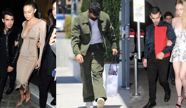 Joe Jonas i Gigi Hadid, SophieTurner