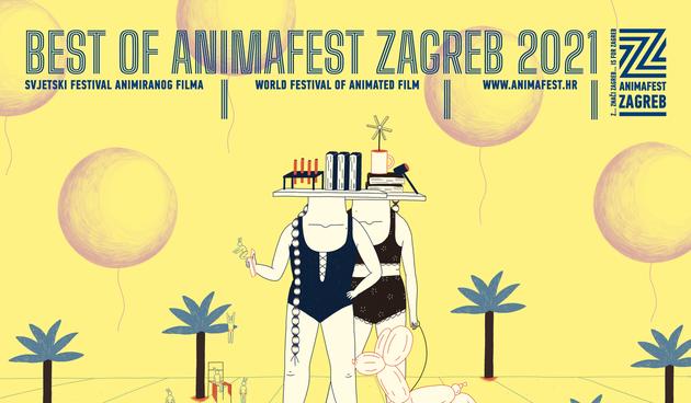 U Kino Zoni revija kratkometražnih animiranih filmova ''Best of Animafest 2021''