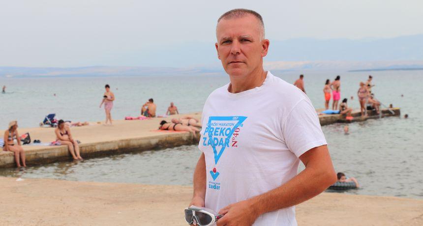 Goran Jadrić: Plivam od djetinjstva, a neostvarena želja mi je preplivati cijeli otok Vir