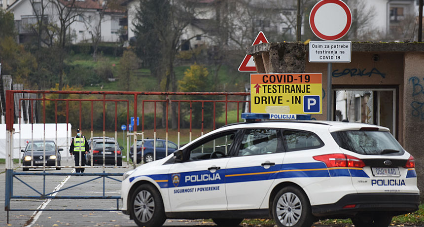 Testiranje na Covid-19: Od petka 1. listopada ponovo se mijenja radno vrijeme Drive in-a na Luščiću
