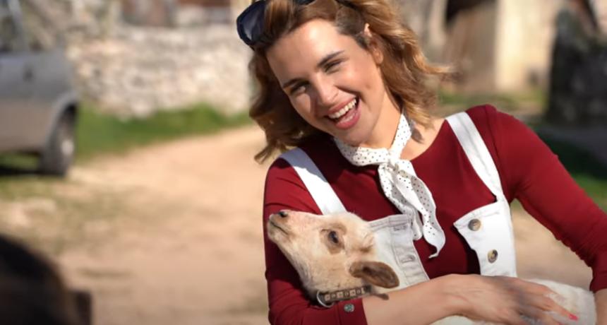Doris Pinčić u nacionalnoj kampanji ruralnog turizma
