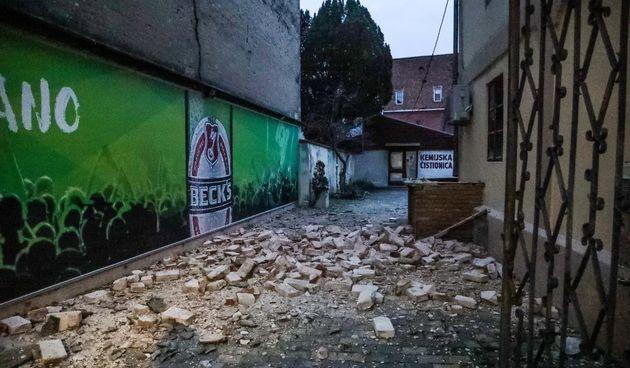 Potres, Sisak