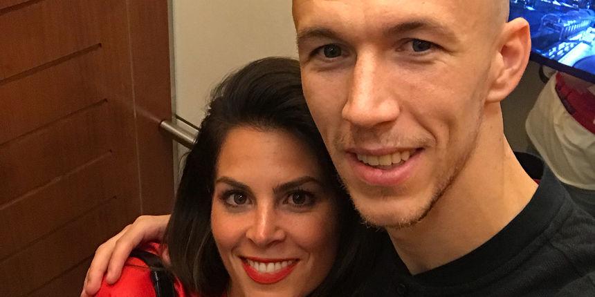 Evo kako je Josipa Perišić suprugu Ivanu čestitala na golu protiv Škotske