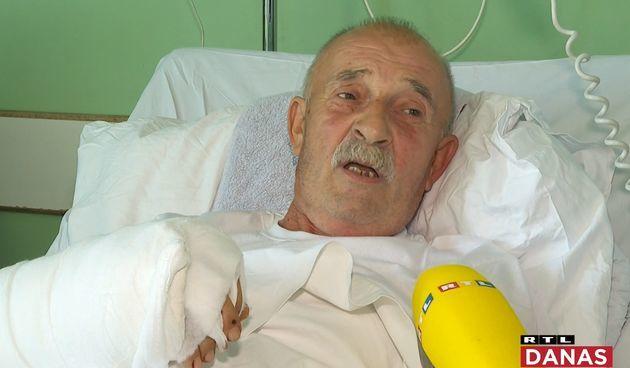 Veliki uspjeh riječkog tima! Ličaninu prišili šaku, 66-godišnji Tomo oduševljen bolnicom i žali samo za jednim: 'Ja bi janjetinu!'