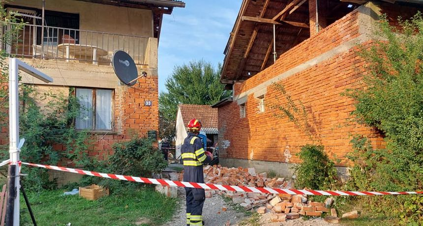Kao da Banovina nije već dovoljno pretrpjela: Pogledajte posljedice današnjeg potresa u Petrinji