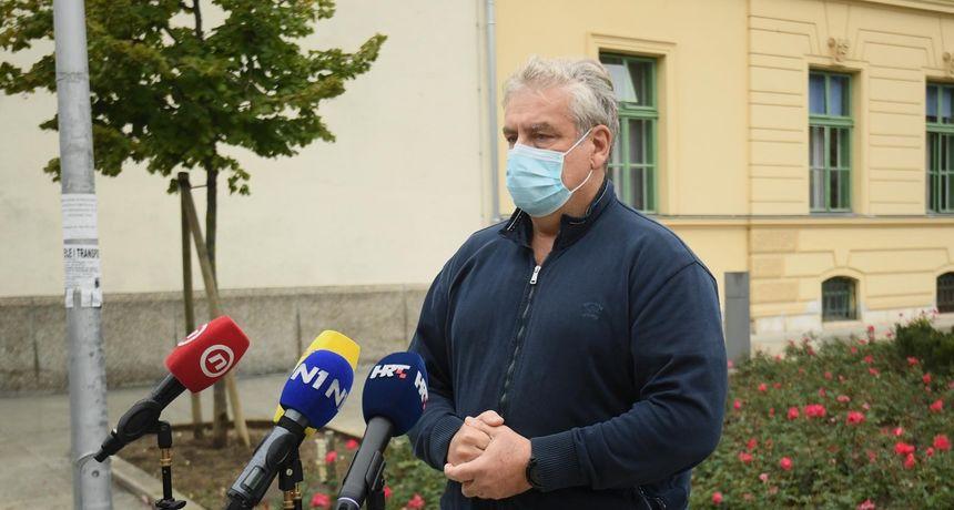Završio višesatni rekonstruktivni zahvat na ruci policajca ranjenog ispred Vlade: 'On je stabilno, čeka ga još jedna operacija'