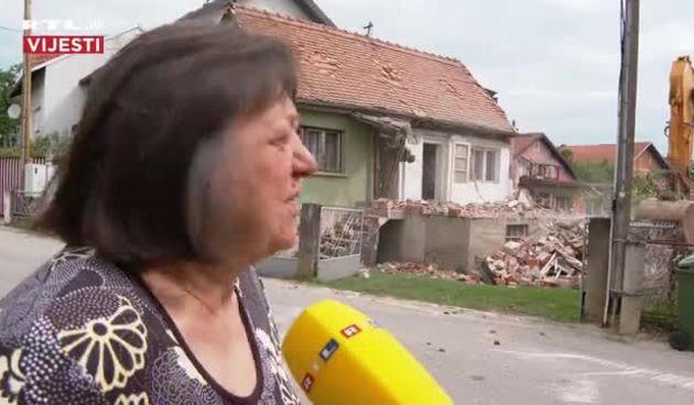 Gospođa Nadica Sunek čija se kuća prva rušila za RTL: 'Sretna sam kaj je to konačno krenulo i valjda bude išlo dalje svojim tokom' (thumbnail)