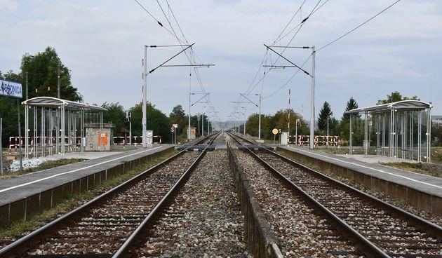 Tračnice, vlak, nesreća