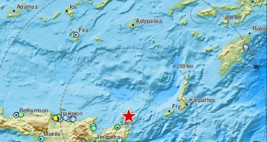 Snažan potres zatresao Grčku, epicentar blizu Krete
