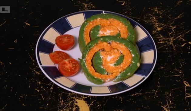 Recept za 5: Fensi rolada