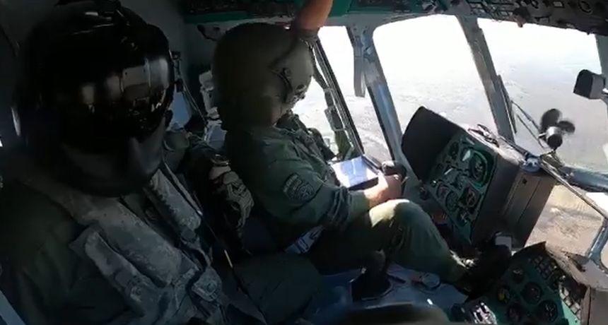 Pogledajte snimku! Hrvatski vojnici u vojnoj vježbi na nebu zajedno s Amerikancima i Švicarcima