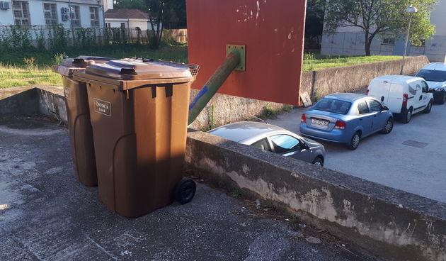 Kanta za smece otpad cistoca zadar