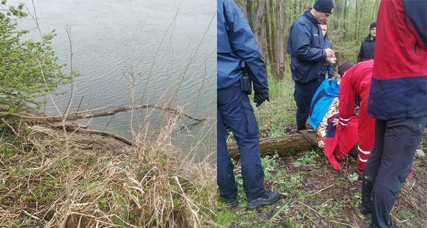 Na pecanju upao u Dravu: Nakon dva dana pronašli ga spasioci kako se grčevito drži za granu