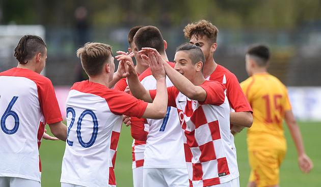 Mladi hrvatski nogometaši i u drugom susretu u Karlovcu uvjerljivi - sa čak 7:1 bolji od Sjeverne Makedonije