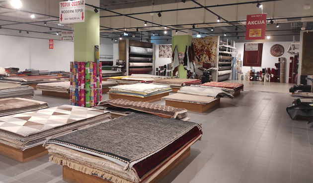 Tepih centar preselio Mall Osijek