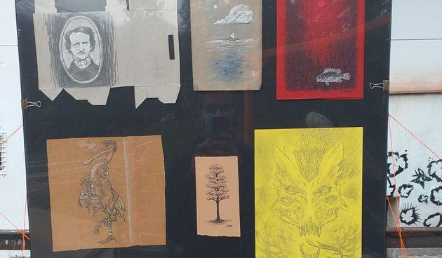 Nakon Urbanog parka, izložba radova Marka Hrčka preselila u Infoshop u Haulikovoj, otvorena do 16. studenog