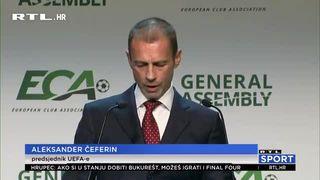 Čeferin: 'Ne treba nam u nogometnom kalendaru Svjetsko prvenstvo svake dvije godine' (thumbnail)