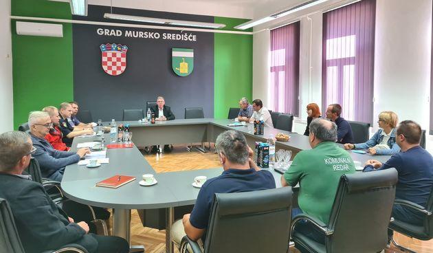 Održan sastanak Stožera civilne zaštite Grada Mursko Središće