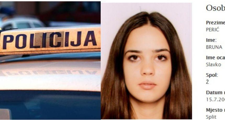 Jeste li ju vidjeli? U Splitu nestala 17-godišnja djevojka. Već dva dana nema joj ni traga