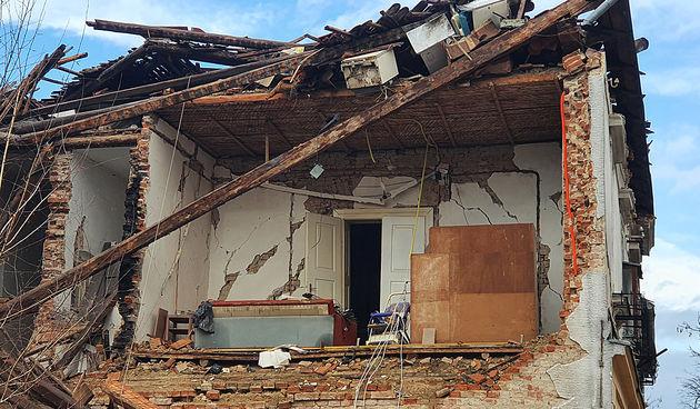 FOTO GALERIJA Petrinja, dan nakon razornog potresa - 30. prosinca 2020. godine