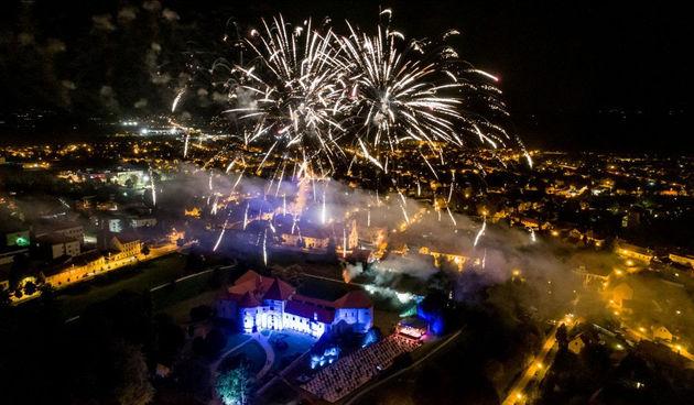 VARAŽDINSKE BAROKNE VEČERI Svečano otvorenje s muzama glazbe, plesa i pjevanja, atraktivnim programom kod Starog grada i vatrometom