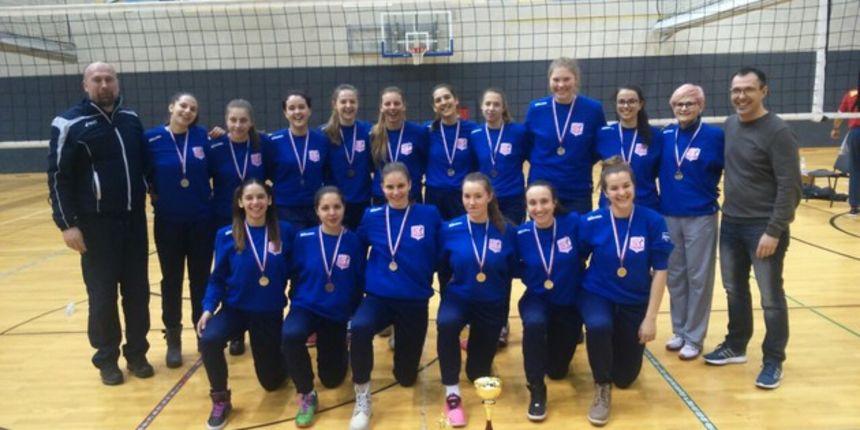 Odbojkašice ŽOK Osijeka srebrne na državnom prvenstvu