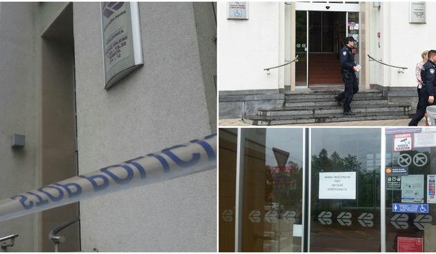 Razbojnik opljačkao banku: 'Bio je potpuno u crnom s maskom na glavi, preskočio pult i izvadio pištolj'