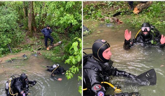Velika tragedija kod Karlovca: U slijetanju automobila u rijeku Kupu poginuo vozač