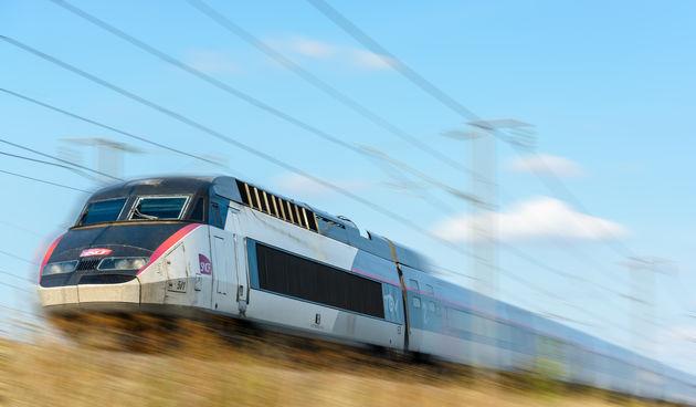 vlak francuska