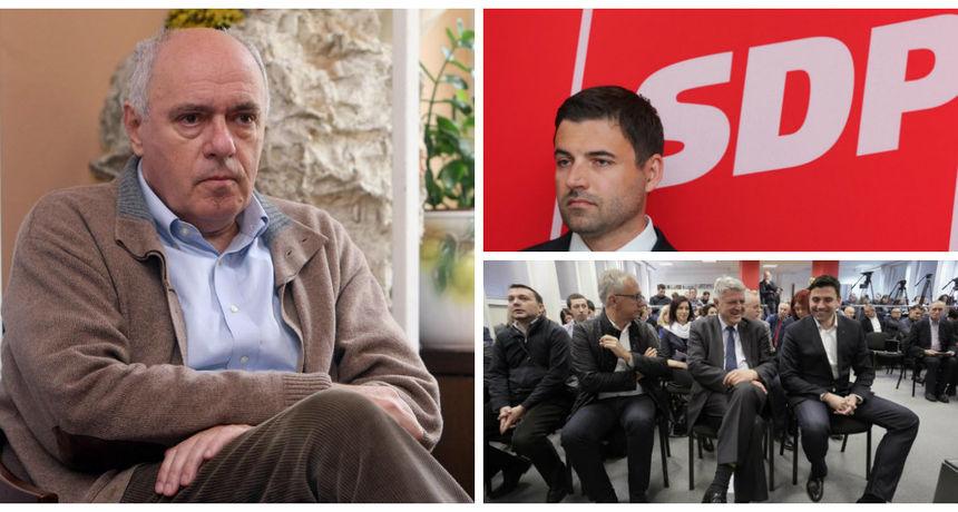'Za SDP je danas ključno pitanje naći kandidata za premijera. Bernardić to sigurno nije'