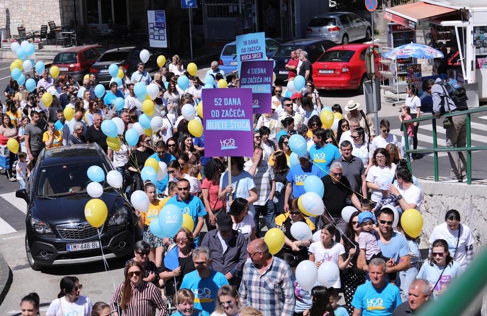 Geslo ovogodišnjeg Hoda za život glasi: Za zaštitu svakog ljudskog života – bez diskriminacije!