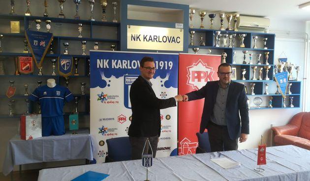 Unatoč pandemijskim posljedicama PPK ostaje sponzor NK Karlovca 1919 - naglasak na pomoći Školi nogometa sa 250 djece