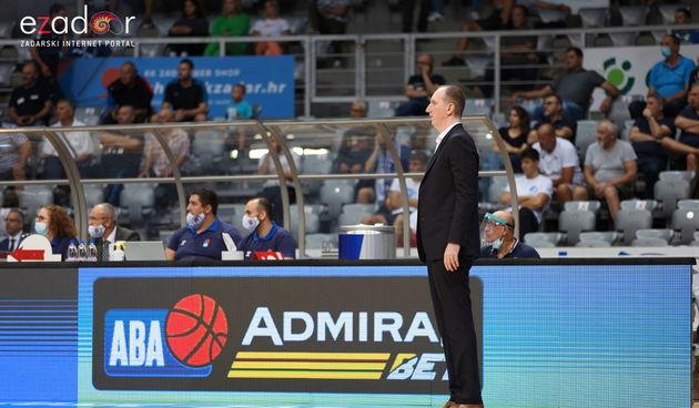 ABA liga, 1. kolo: KK Zadar - KK Partizan NIS 73-78