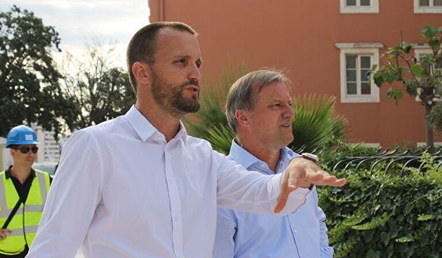 Šime Erlić i Branko Dukić, bedemi, muraj