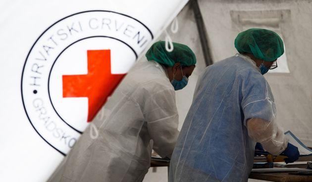 split bolnica covid korona medicinske sestre