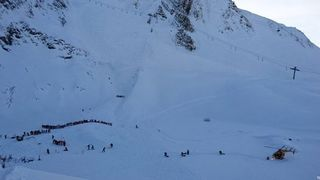 Lavina u francuskim Alpama, Foto: Twitter BBC
