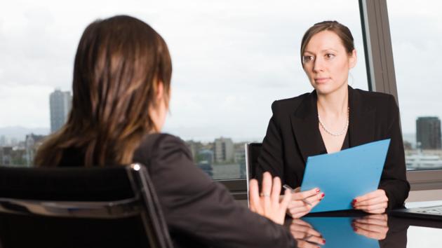 Intervju za posao, Razgovor za posao
