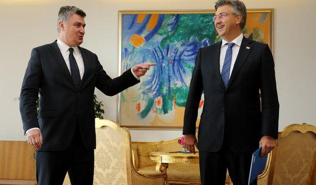 Andrej Plenković stigao po mandat za sastavljanje nove Vlade kod Zorana Milanovića
