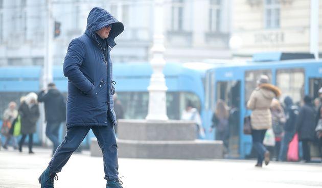 Zagreb, zima, hladnoća