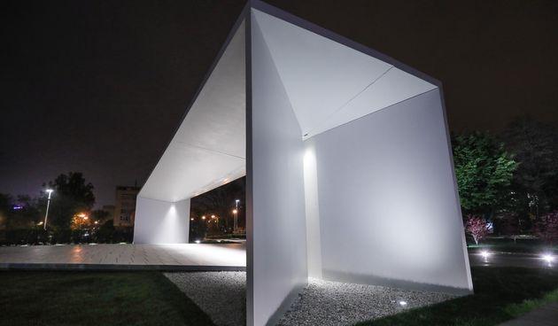 Oštećeni Spomenik domovini