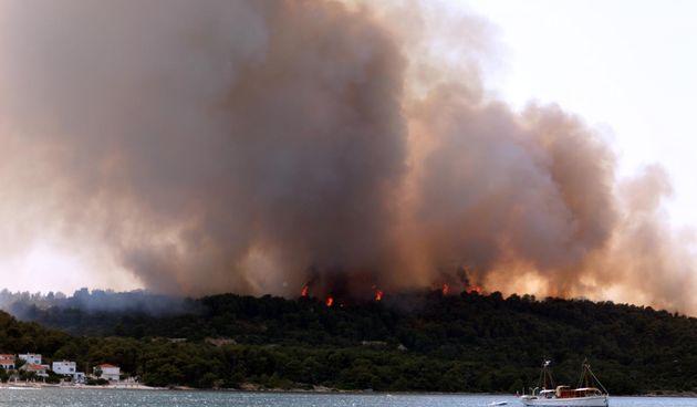 Požar na Čiovu