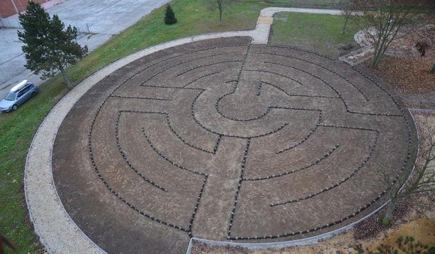 Domašinec, labirint