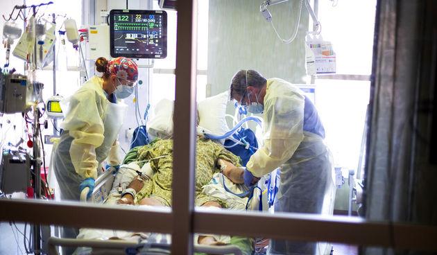 covid bolnica, Idaho