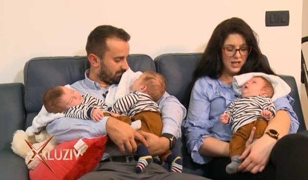 U obitelji Jurić se sve množi s tri, pa i sreća: 'Nismo mogli vjerovati' (thumbnail)