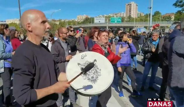 Italija, protest