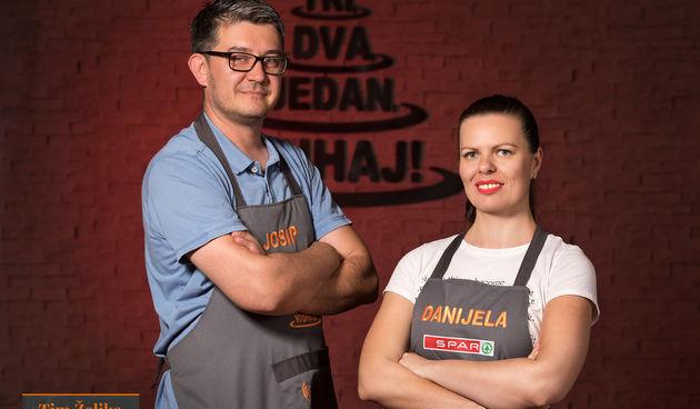 Danijela Nevajda (36) i Josip Rajić (41)