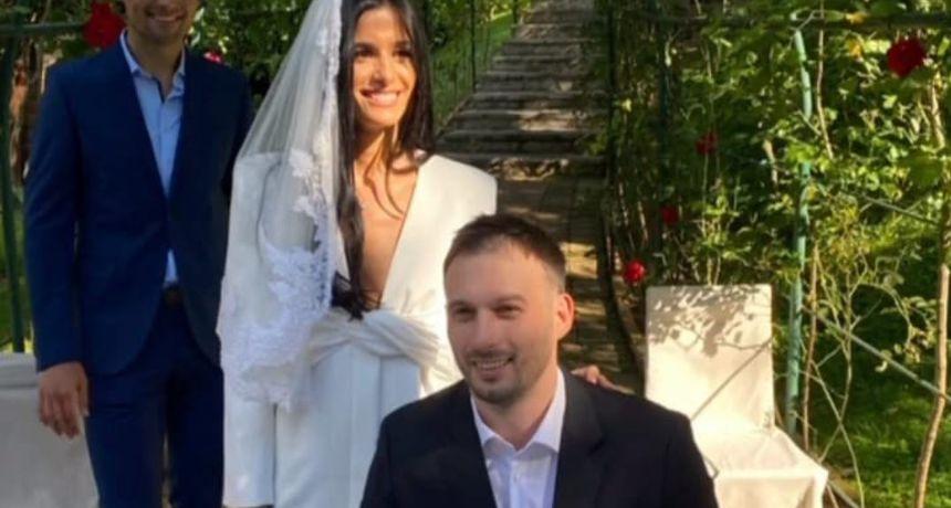 Rukometaš Igor Karačić oženio prelijepu Makedonku Dušicu